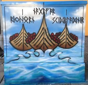 Die drei Schiffe der nordischen Mythologie